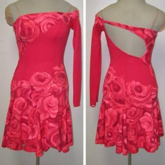 Learn to sew asymmetrical dance & skate necklines, www.seamssensational.com